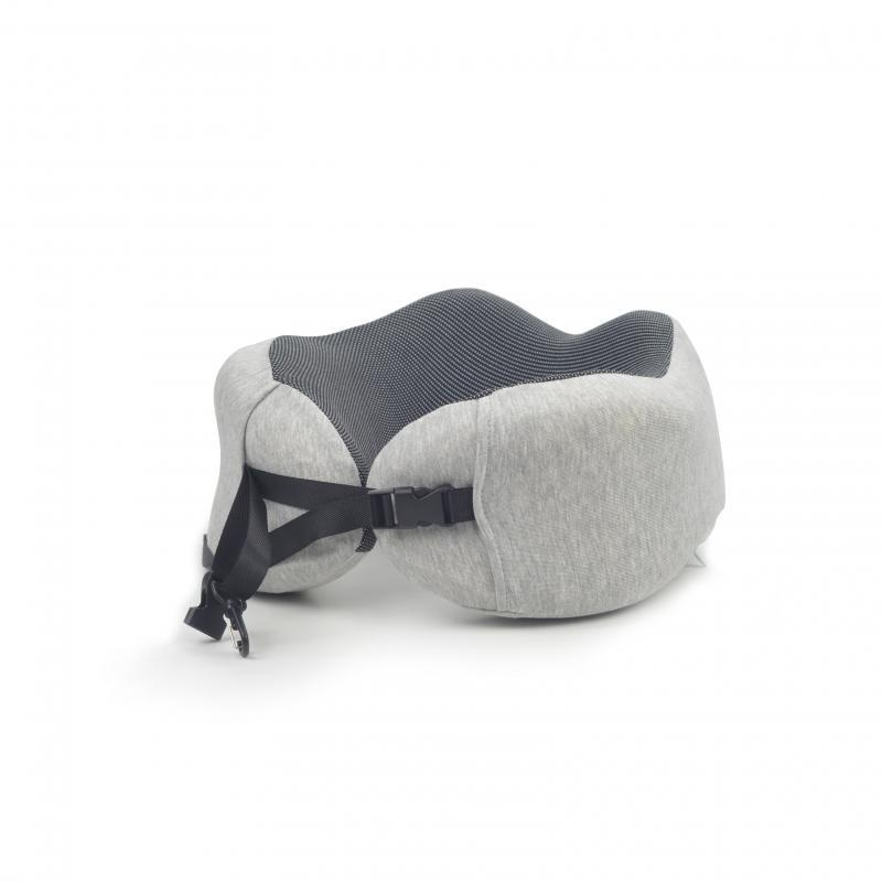 Gray rollable Travel Pillow