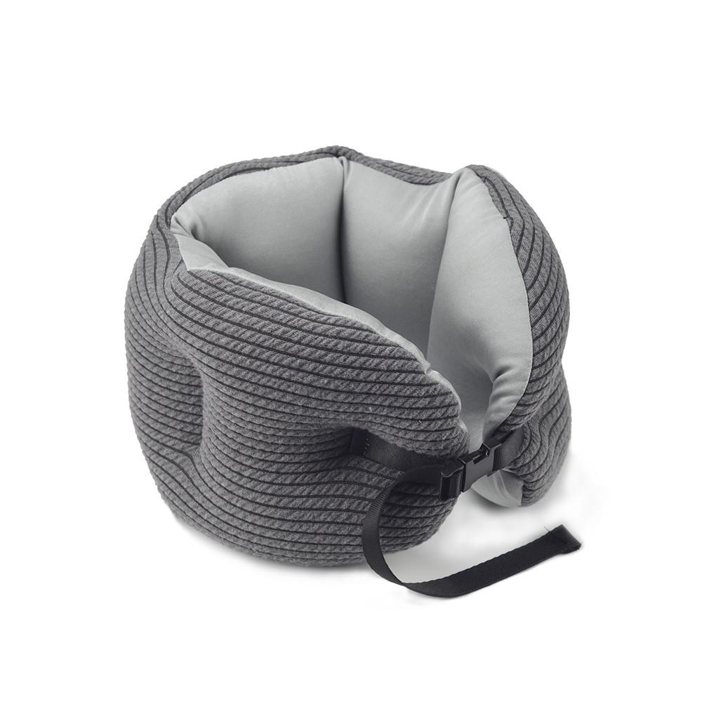 Neck support custom microbead pillow convertible travel pillow