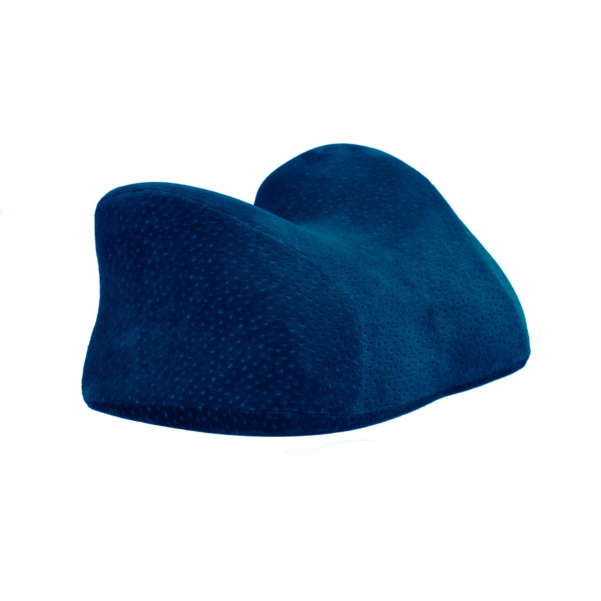 Dark blue custom velvet pillow custom face pillow