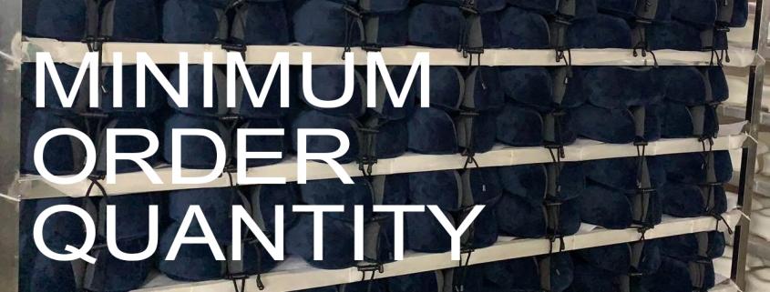minimum order quantity custom pillows