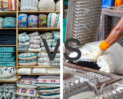 China pillow manufacturers vs pillow trading companies